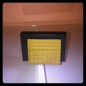 NIB Bottega Veneta Intrecciato Card Wallet